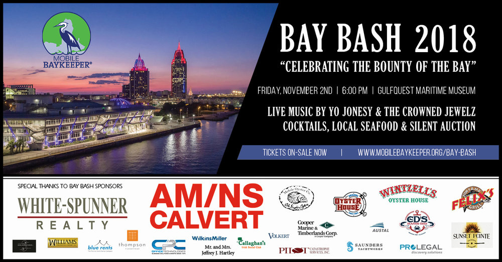 Bay Bash 2018 hosted by Mobile Baykeeper
