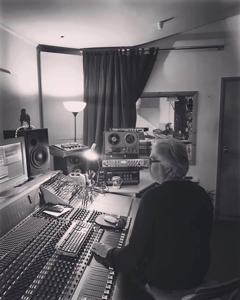 Ian Grimble at the helm. Church Studios North London.