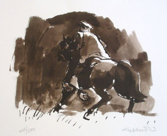 - Kyffin Williams, Horse Rider Patagonia
