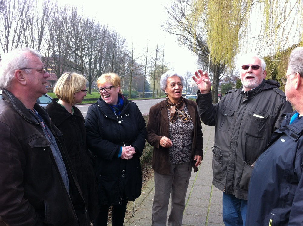 Community Care Walk, Amstelveen, March 2014. Courtesy of Fred Sanders.