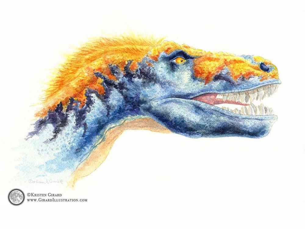 Tyrannosaurus Rex - Blue