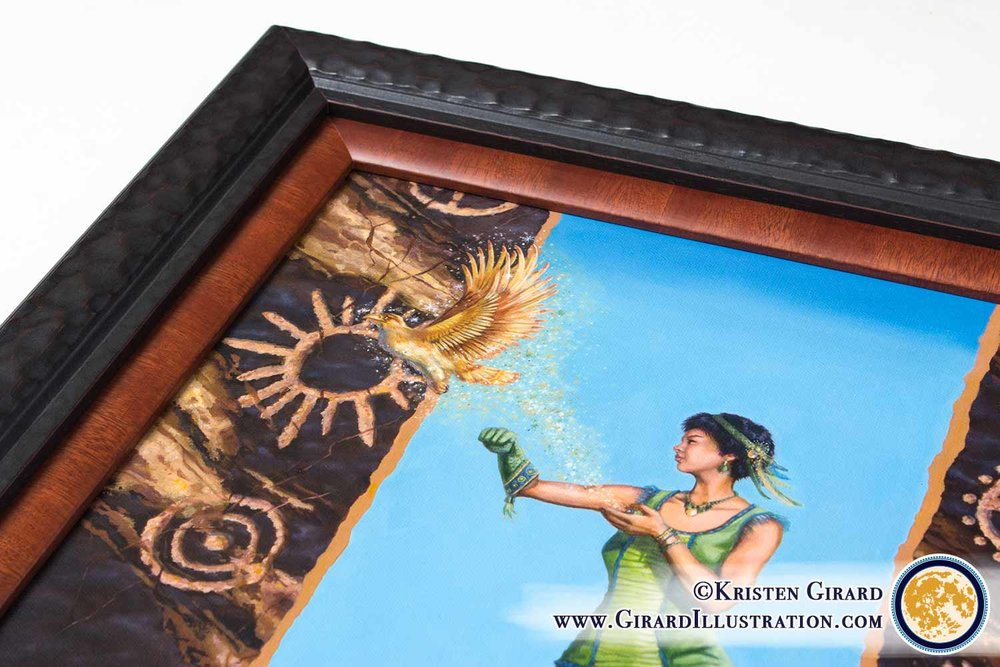 ART OF CREATION COLLECTION  A breathe of fresh air and an infusion of magic comes with this naturally magical artwork.   Click here to enjoy nature inspired art with spirit.