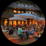 Idingshof Hotel Terrasse Bramsche Restaurant