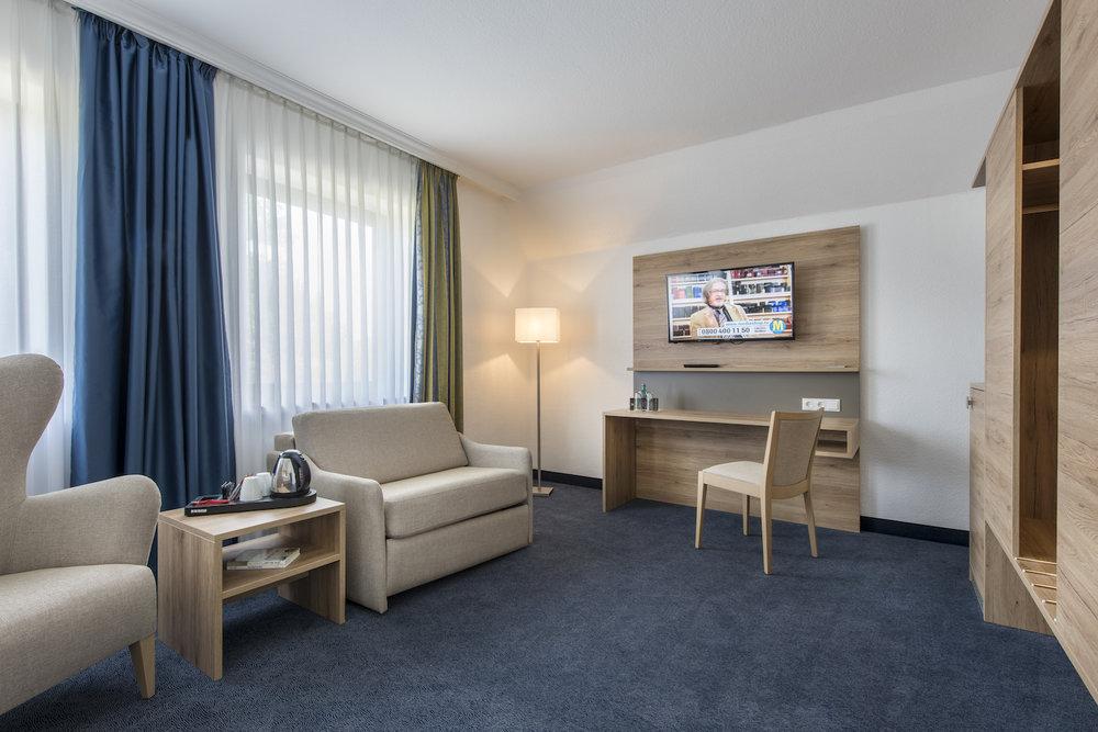 Hotel Idingshof Bramsche - Familienzimmer mit 2 Zimmern für insgesamt 4 Personen