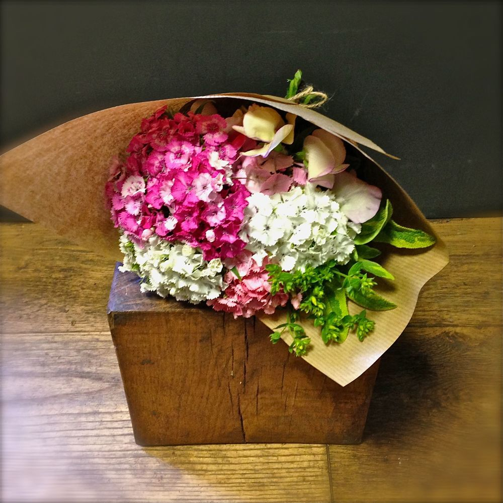 Church Lane Flowers bouquet for British Flowers Week 2015