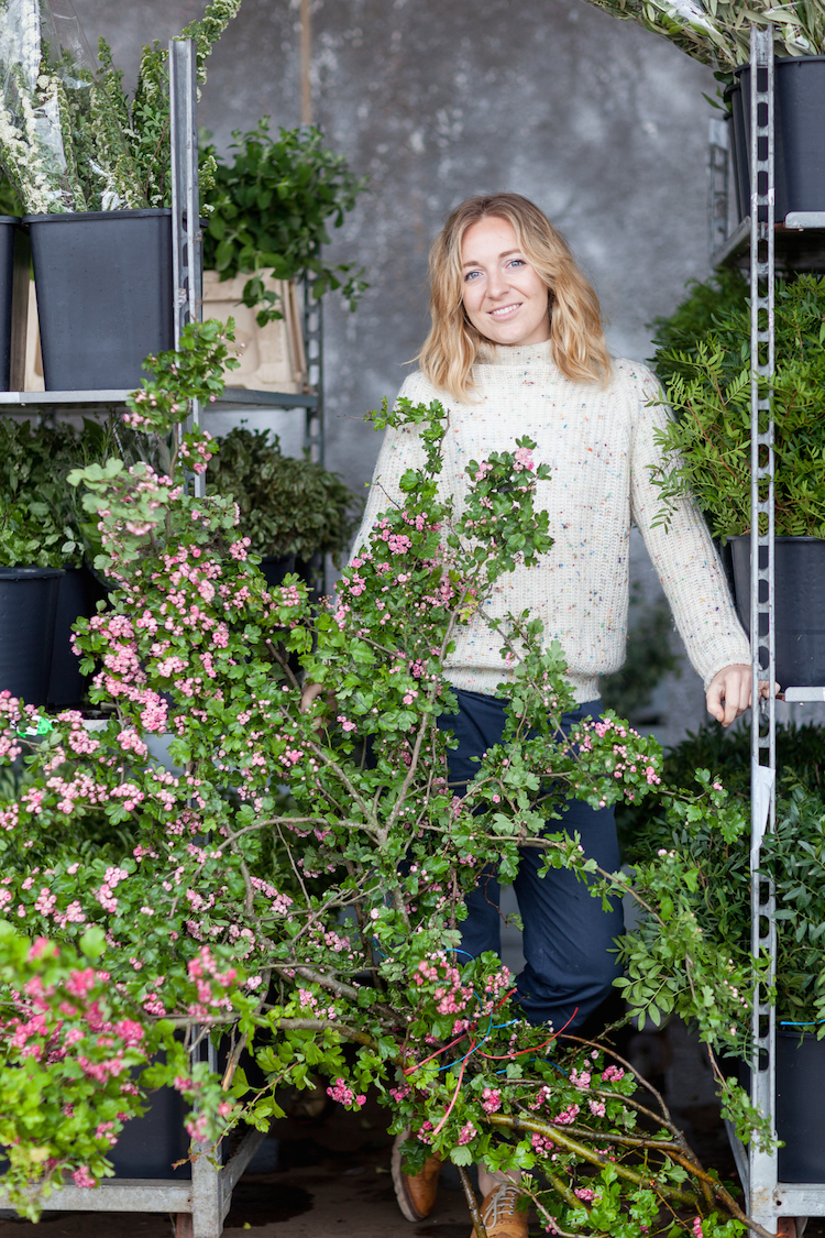 Day 2 of British Flowers Week 2016, featuring Florence Kennedy of Petalon, presented to you by New Covent Garden Flower Market