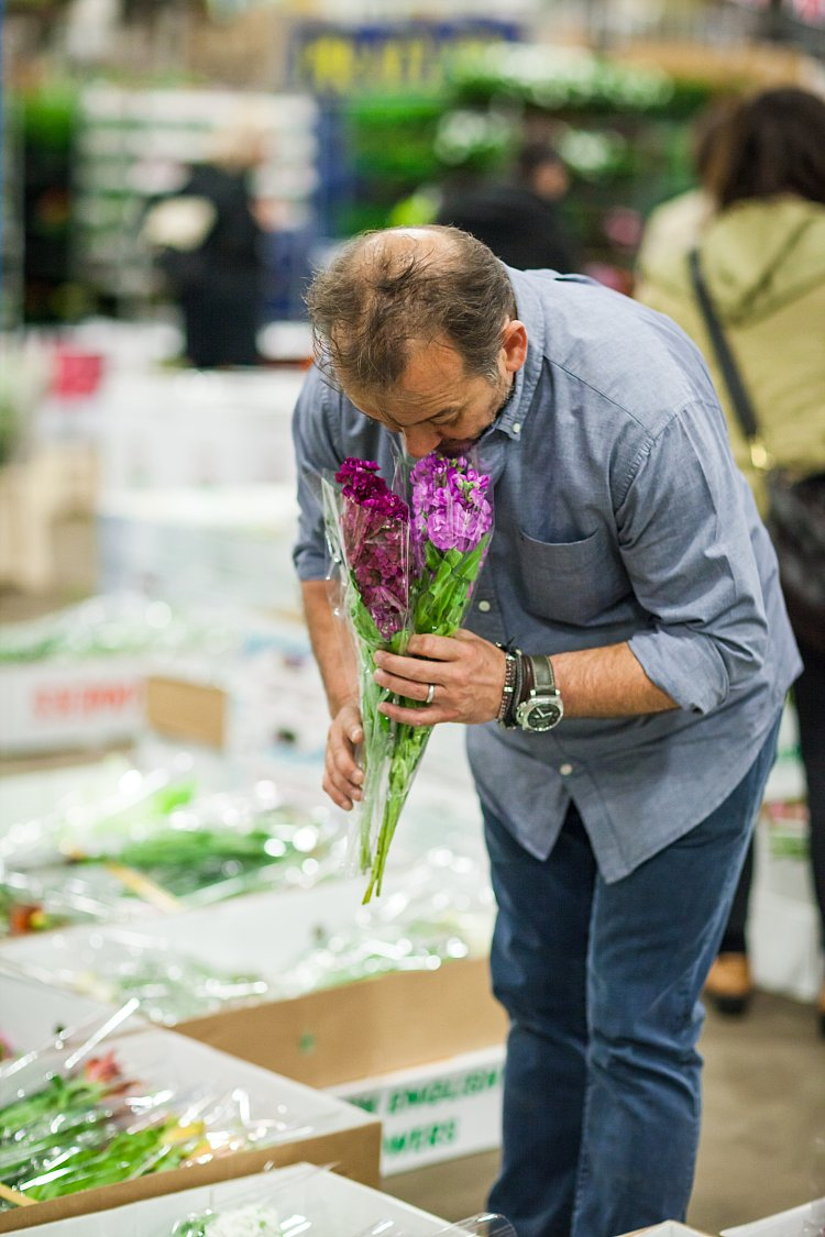 Day 5 of British Flowers Week, featuring Rob Van Helden of Rob Van Helden Floral Design, presented to you by New Covent Garden Flower Market