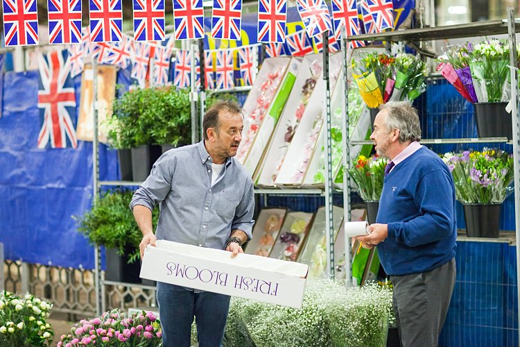 Day 5 of British Flowers Week, featuring Rob Van Helden of Rob Van Helden Floral Design at the Flower Market, presented to you by New Covent Garden Flower Market