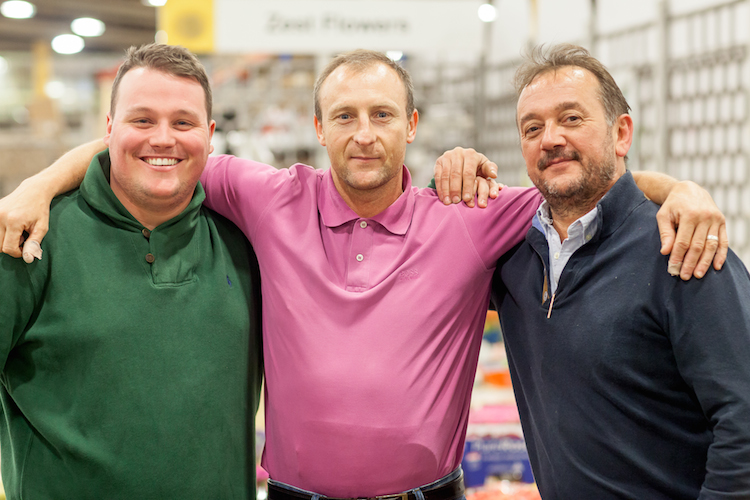 Day 5 of British Flowers Week, featuring Alfie of Donovans, Terry of Zest Flowers and Rob Van Helden of Rob Van Helden Floral Design, presented to you by New Covent Garden Flower Market