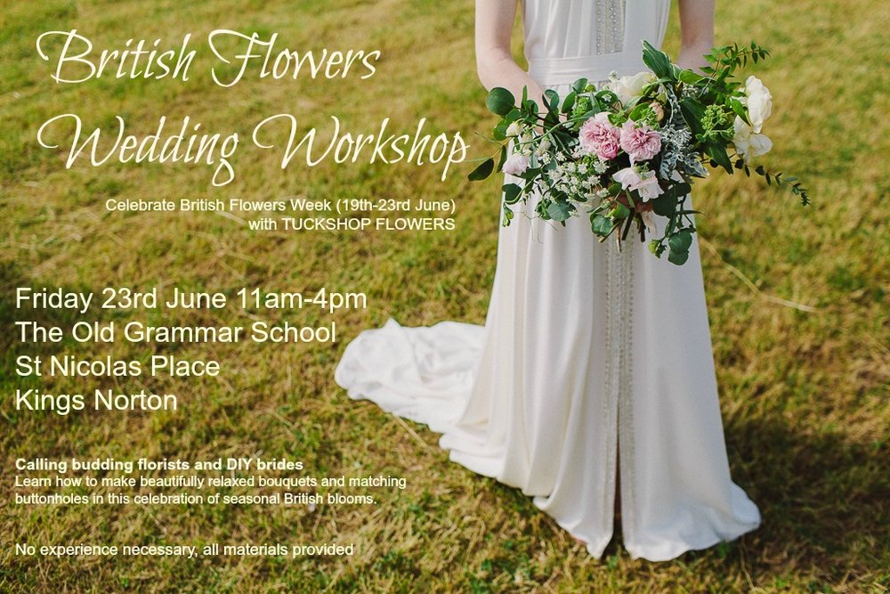 British Flowers Wedding Workshop