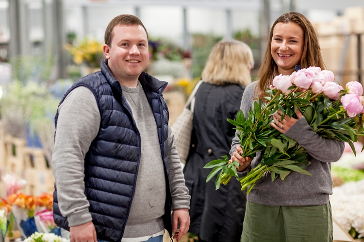 Jennifer Pinder for British Flowers Week 2017 by New Covent Garden Flower Market