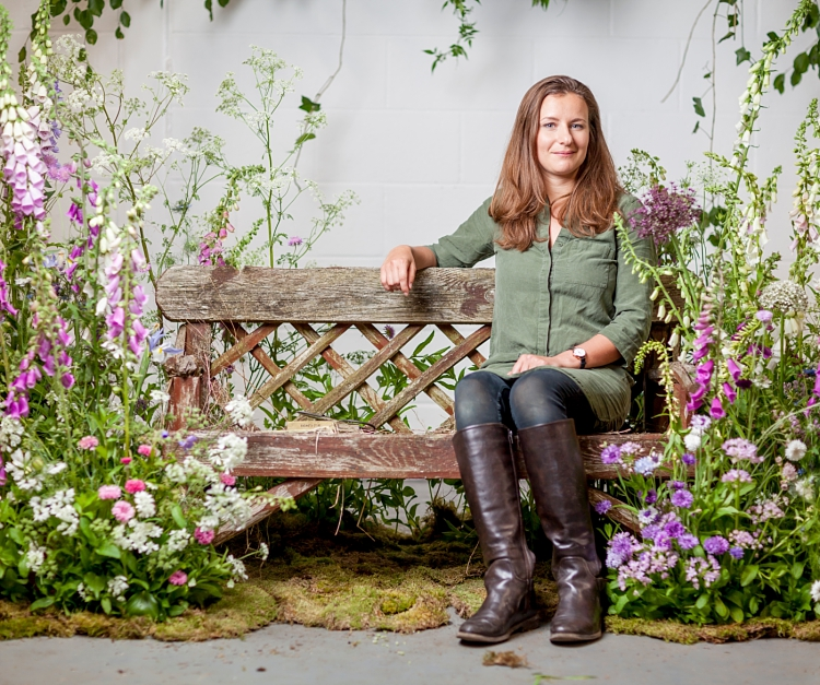 Jennifer Pinder for British Flowers Week 2017