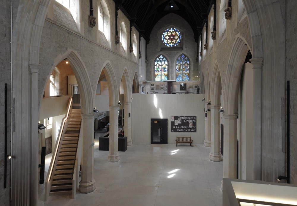 The Museum's central nave space, where the installations will be displayed. ©David Grandorge.