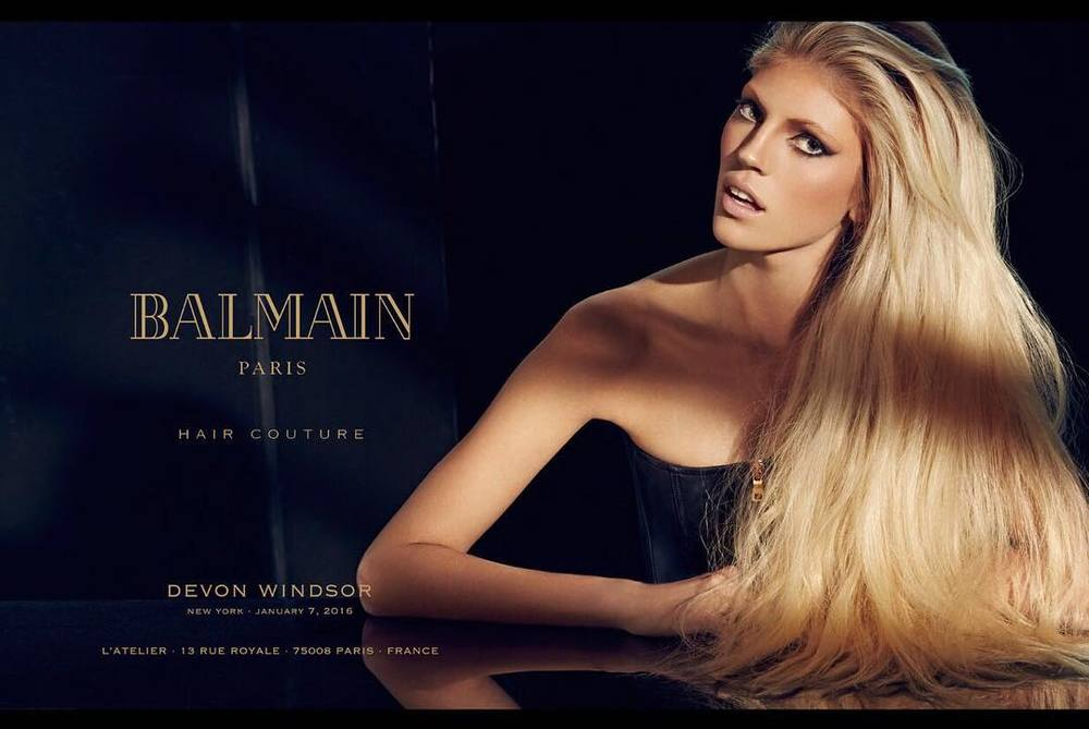 Balmain Hair Couture - 2016