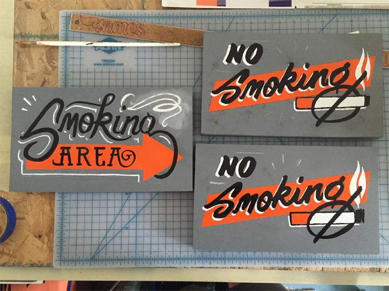 Smoking Signage
