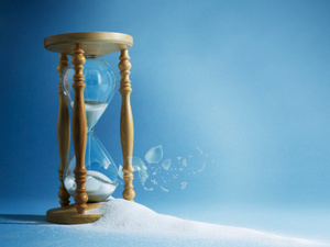 Broken hourglass  3 Reasons Why Market Timing is a Lie — Bisonwood Investments