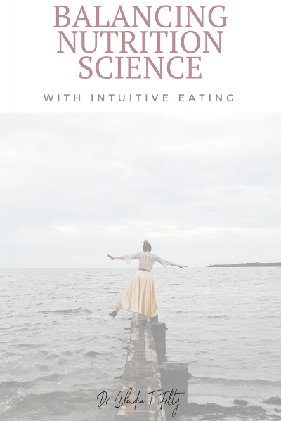 balancing nutrition with intuitive eating