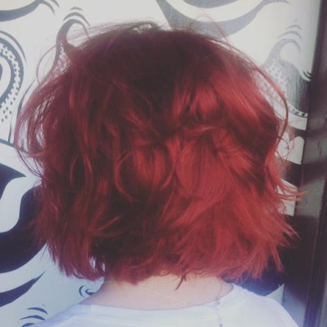 Red hair makeover by @amber_dawnnn 🔥🔥