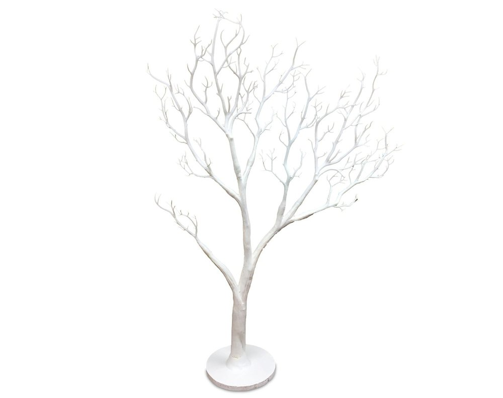 White Twig Tree For Holidays And Centerpieces