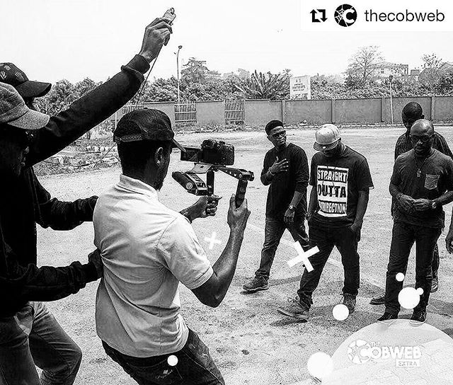 #Repost @thecobweb  Sneak peek behind the scenes of our pilot video.  Explosive! Follow @thecobweb  Stay tuned for more!  #TheCobweb #AttractGreatness  #creative