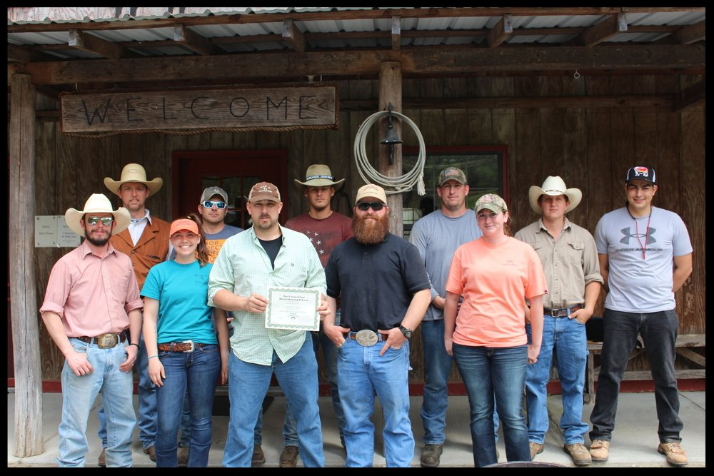 Congratulations to Jarrod Z. Hicks of Virginia, Farrier graduate of  Casey Horseshoeing School in Georgia, Link Casey, owner.JPG