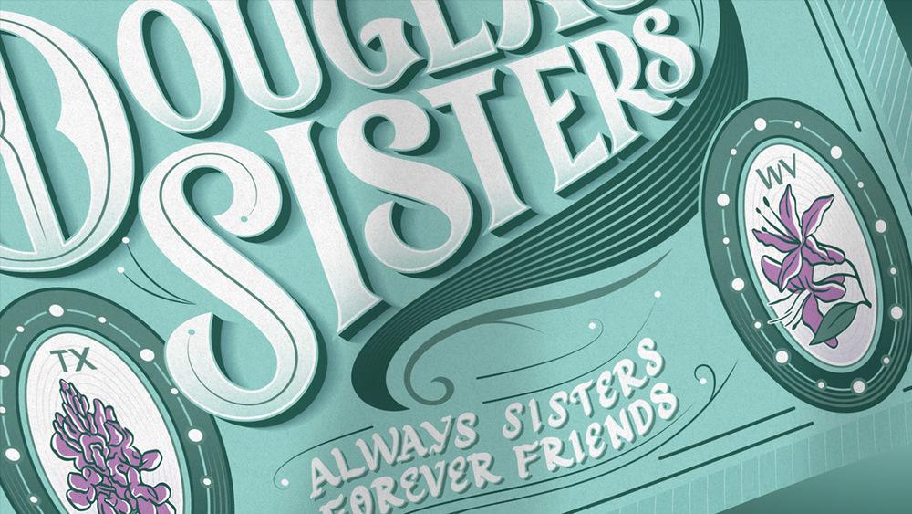 Douglas Sisters Poster