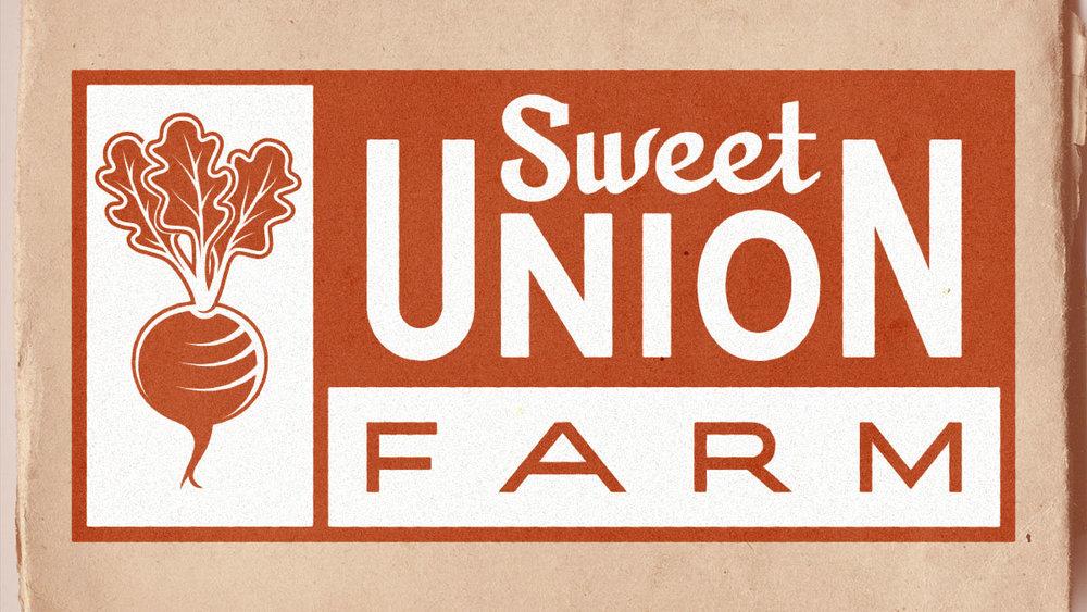 Sweet Union Farm Logos