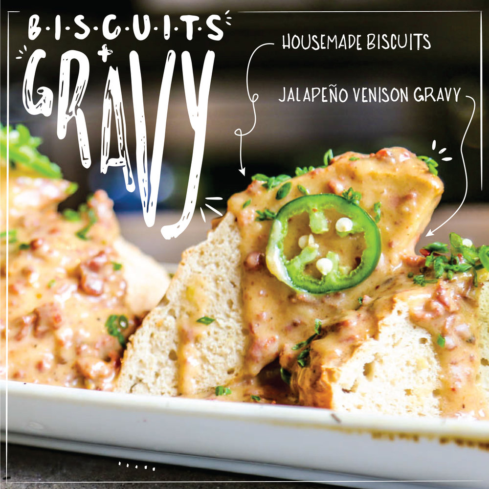 Biscuits + Gravy