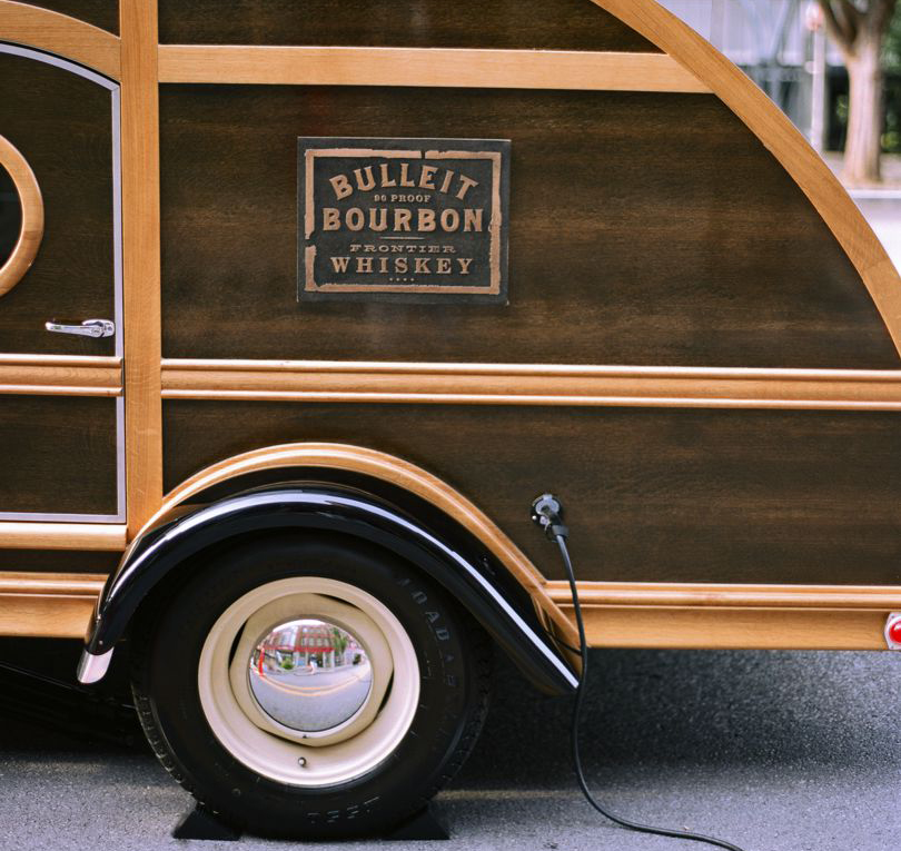 Bulleit Bourbon Frontier Whiskey Pop-Up