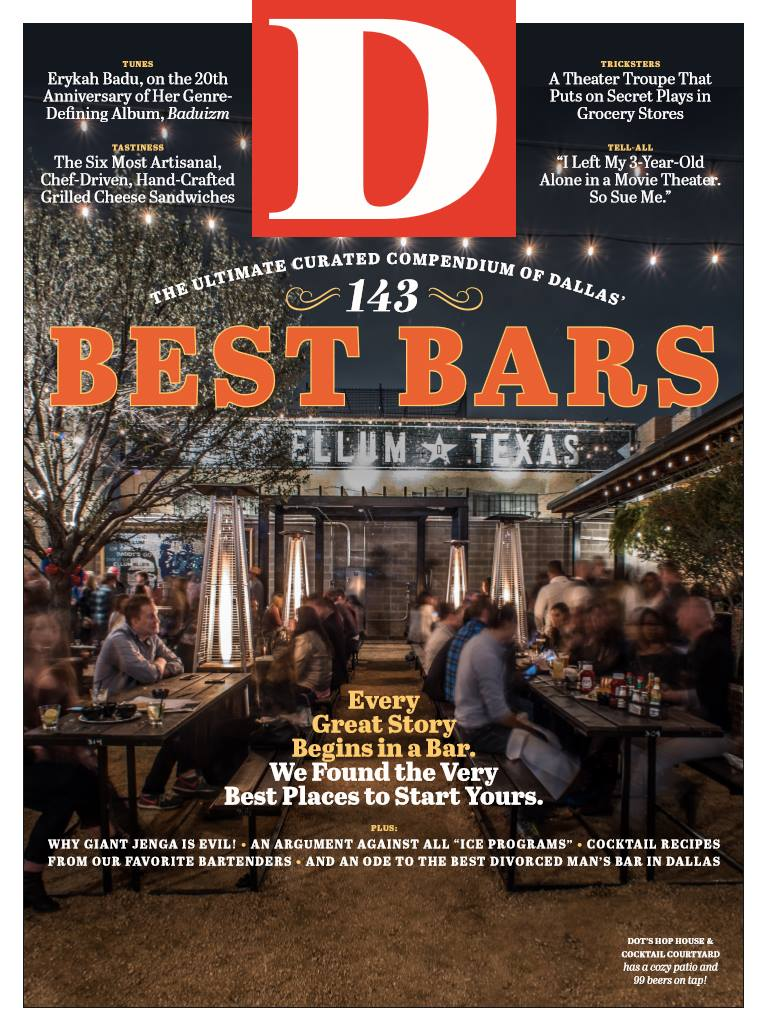 D Magazine Names Happiest Hour And Dolce Riviera Best Patio Bars In Dallas