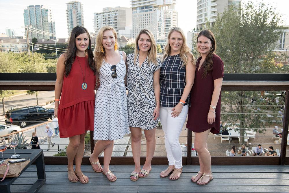 Caroline Fair, Kaleta Blaffer, Sadie Batson, Audrey DeWitt, and Emily Dawson