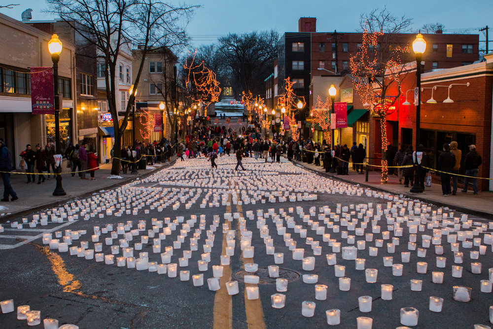 Light Up State College Breaks World Record -