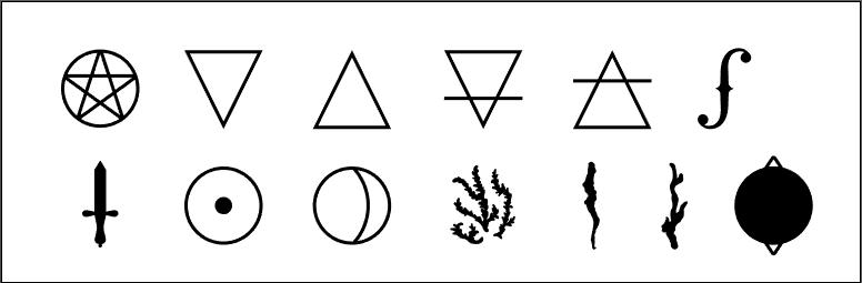 lyz beltrame joia de bruxa pictogramas