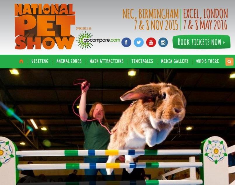 National Pet Show November 2015