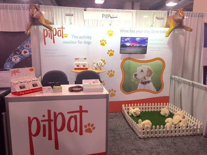 The CES 2016 PitPat stand is at: 80422 Eureka Park Sands G