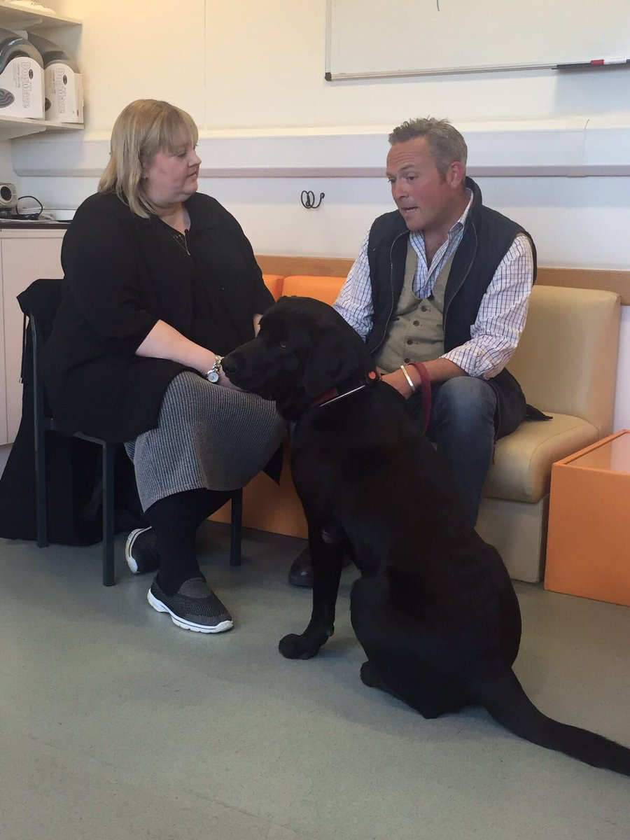 Dr Emily Blackwell & BBC One presenter Jules Hudson with Teddy: Countryfile Spring Diaries
