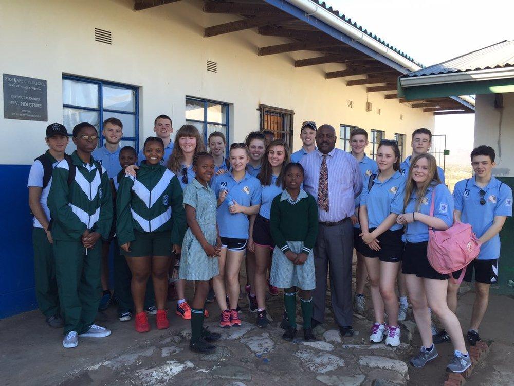 Photo: Visiting Ntolwane Primary School
