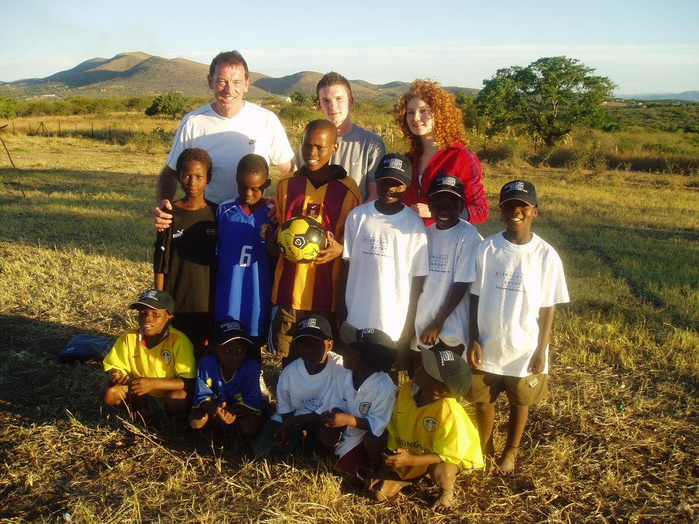 With footballers 2007.JPG