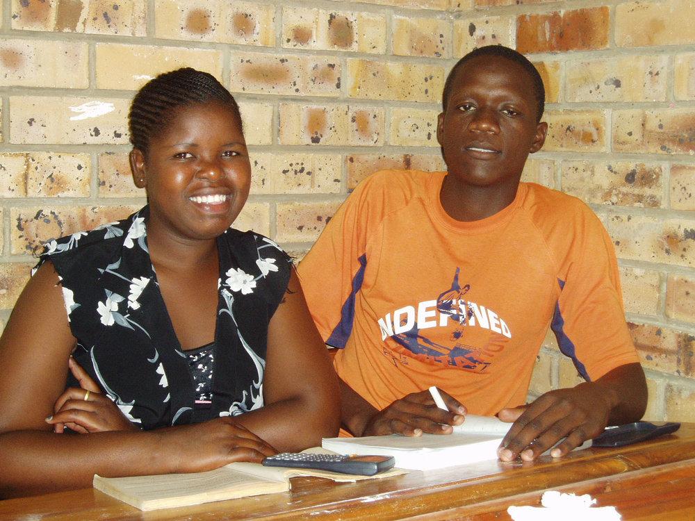 Photo: Studying at Mnyakana High School in 2006