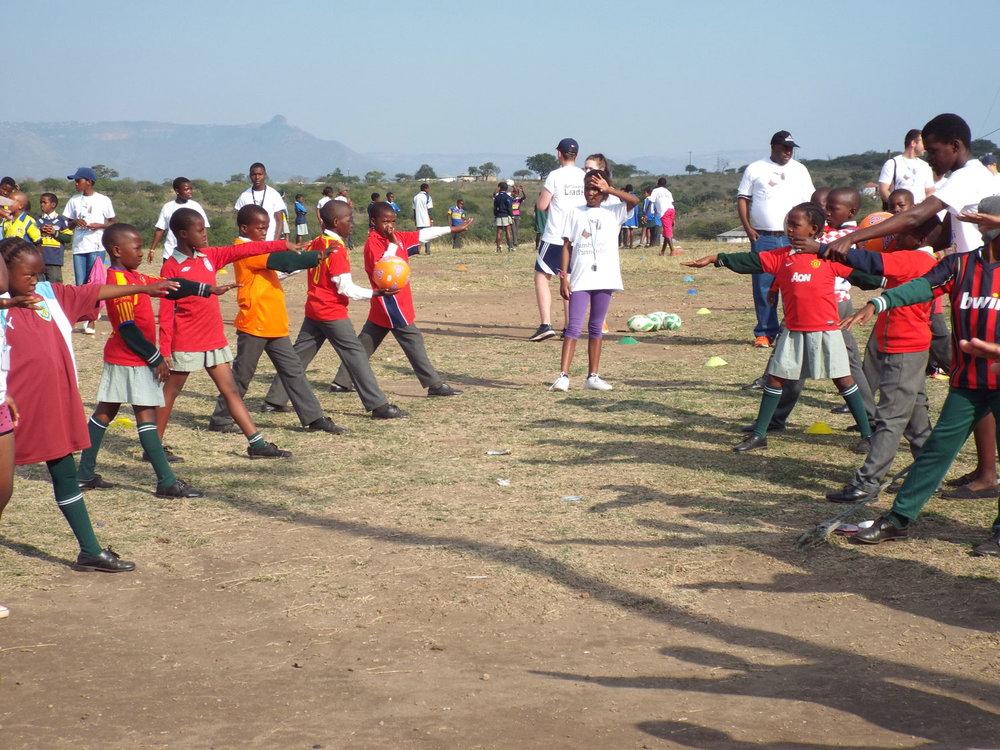 Sport: Sports Festival at Mnyakanya High School