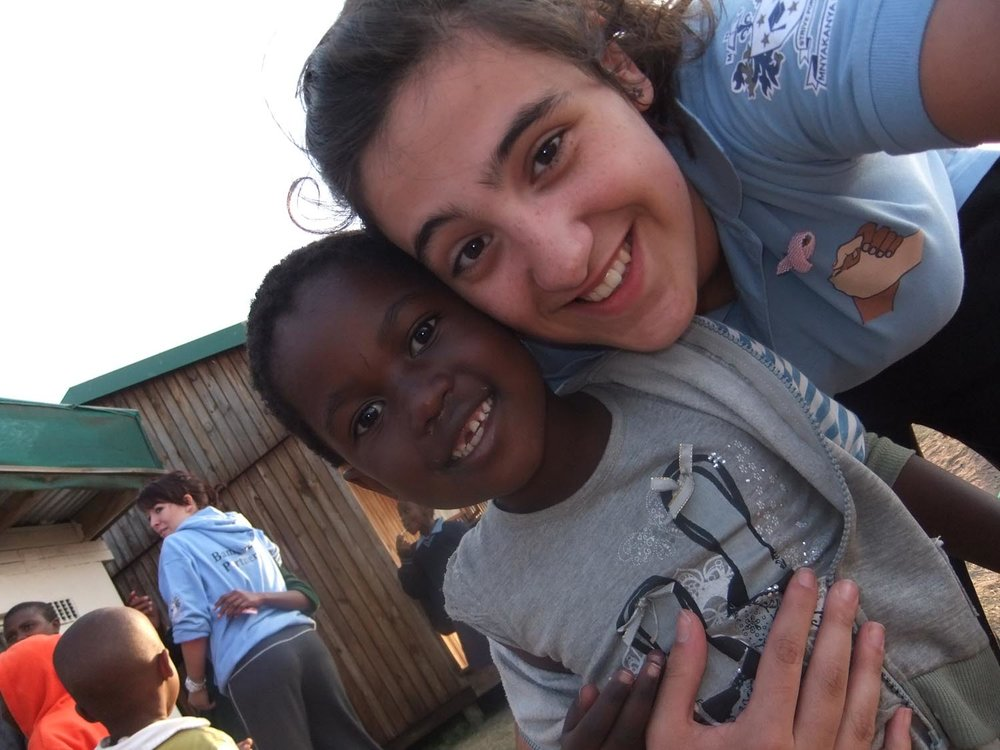 Photo: Alessandra was part of the St. Mary's visit to South Africa in 2011