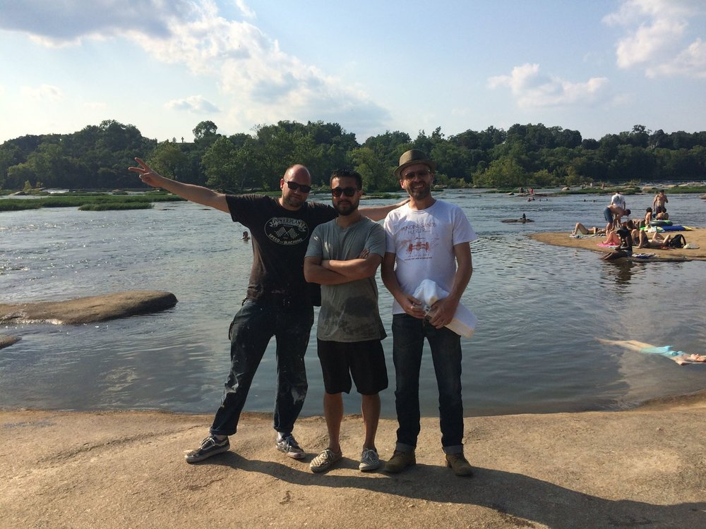 D*Face, Steven and I at Belle Isle Richmond, VA