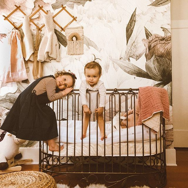 Just hanging around 🐵 just kidding both girlies are taking naps right now 🙏🏼🙏🏼🙏🏼 and I think I'll go join them! • Olives gorgeous pinafore dress is from @iralovesmae new collection ✨ • • • #lifegivingsquares #documentyourdays #celebrate_childhood #letthekids #parenthood_unveiled #bestofmom #magicofchildhood #motherhoodthroughinstagram #teammotherly #smallandmighty #letthembelittle #pocket_sweetness #simplychildren #uniteinmotherhood #childhoodunplugged #momtogs #candidchildhood #ig_motherhood #dearestviewfinder  #habitandhome #simplystyleyourspace #oldhomelove #oldhome #pollocksoldhome