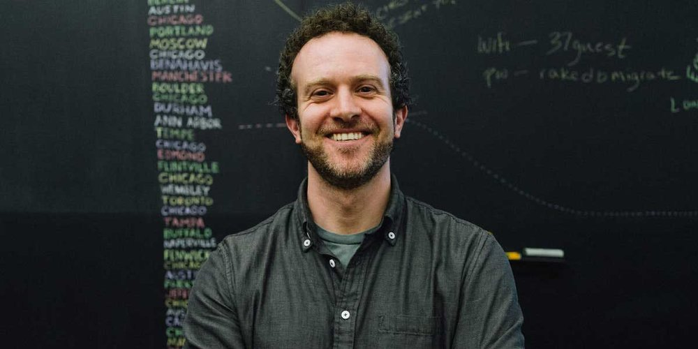 Basecamp CEO Jason Fried keeps a 40-hour week; the average CEO works nearly 60 hours a week. (Photo by  Marc Garrett  for  The Great Discontent )