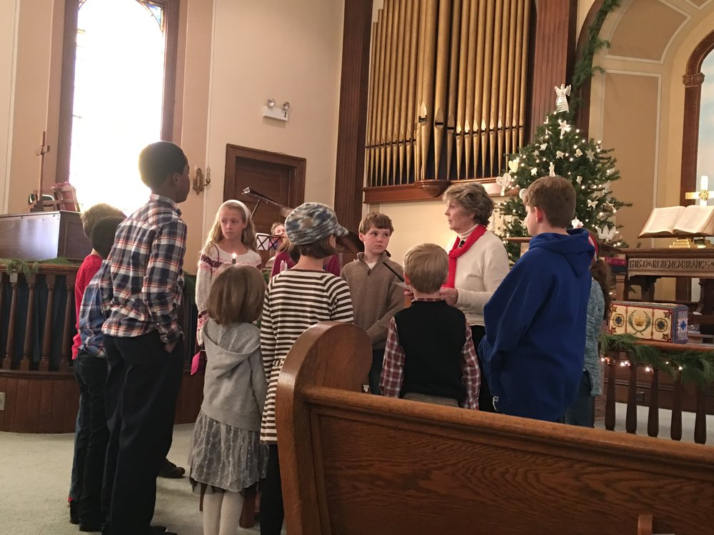 2016 No Rehearsal Christmas Pageant