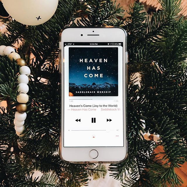If you missed the news, our team here at Saddleback Worship just released some new Christmas tunes to help brighten up the season and refocus our eyes on Jesus in the midsts of the busyness.  HEAVEN HAS COME is now available on all major streaming services! Link in bio!  #SaddlebackChurch #SaddlebackWorship #HeavenHasCome