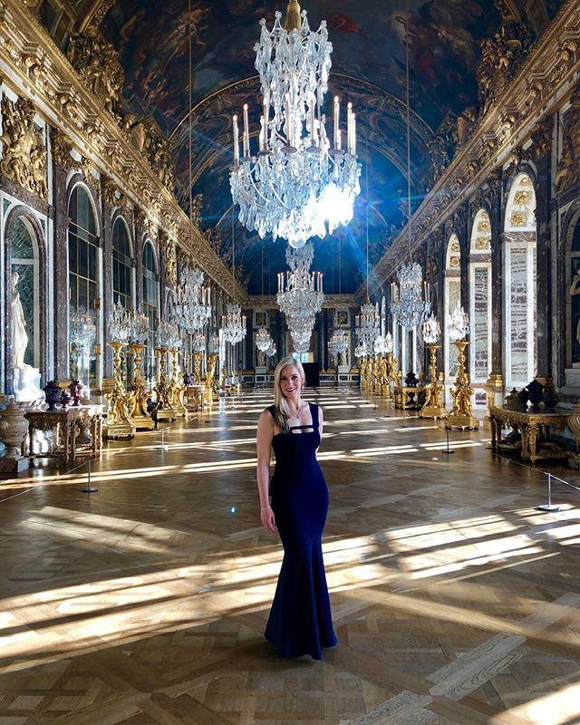 There's a new Queen in town. I live here now. #palaceofversailles 👑 #yaasqueen