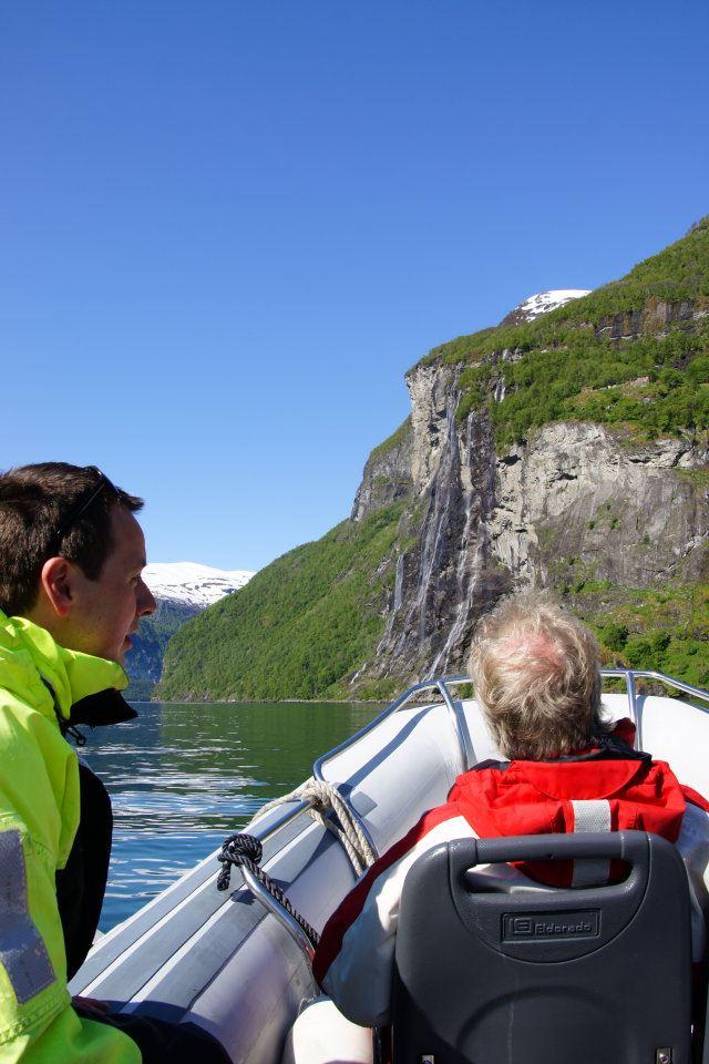 RIB rafting Geirangerfjord
