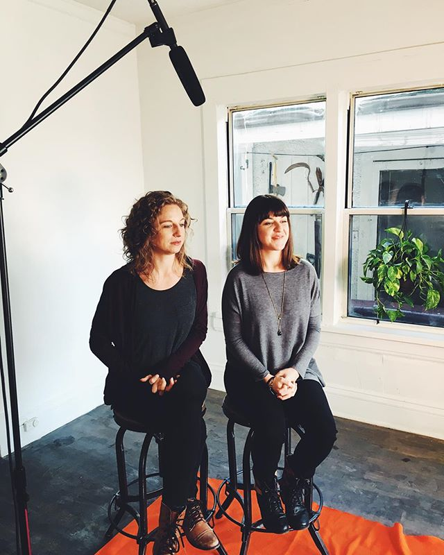 Meet Mikaela and MacKenzie -- two dancers who are making a difference by creating opportunities for trauma victims to reclaim their lives through dance. Thanks for sitting down with us to chat about your work!  #reclaimfreedom #enditmovement #endslavery