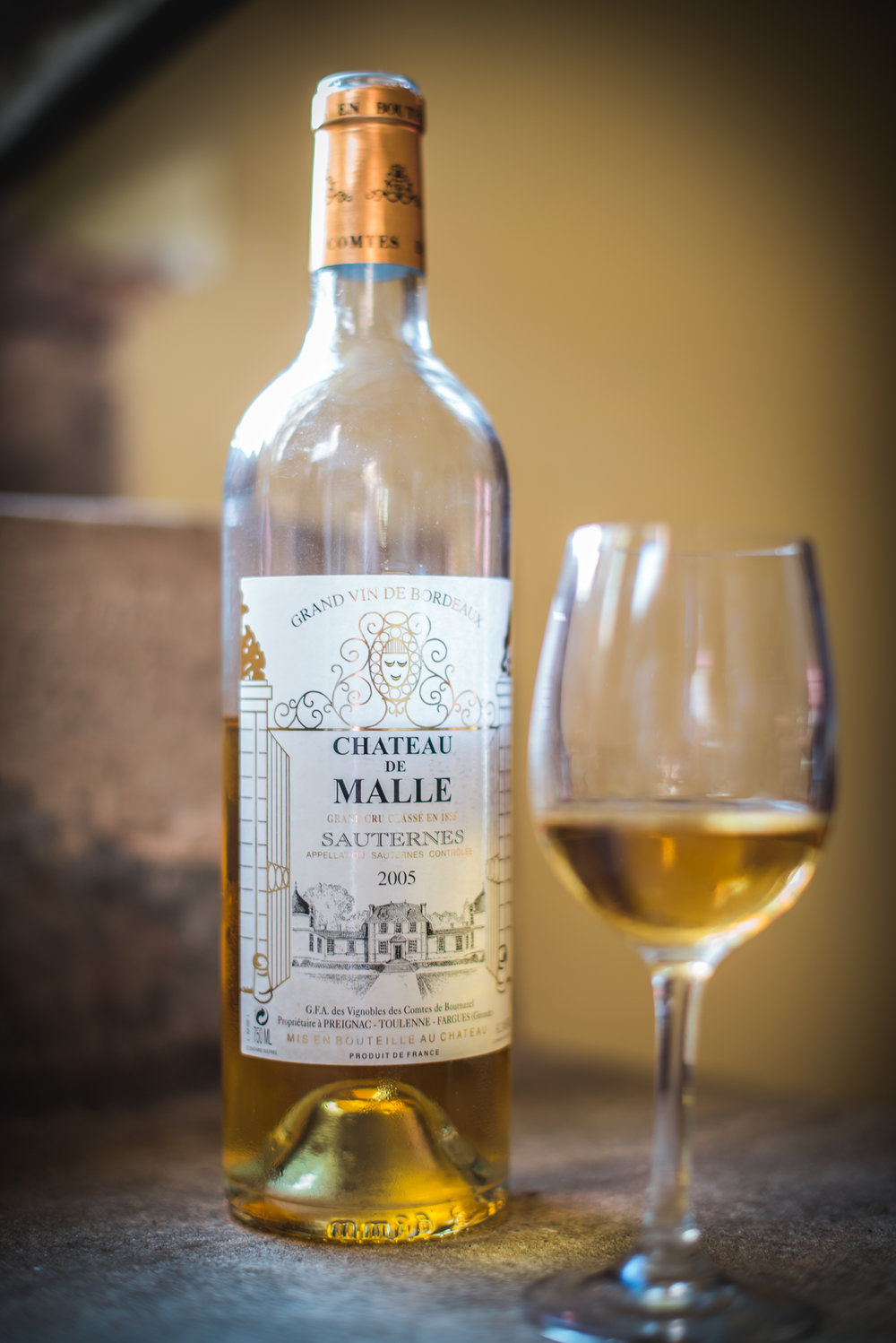 I visited Chateau DeMalle in Bordeaux last year, where I induldged in a glass of timeless Sauterne.